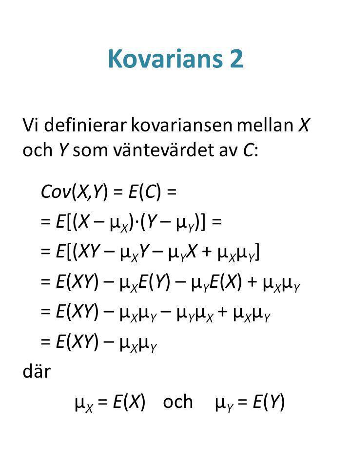 Kovarians 2
