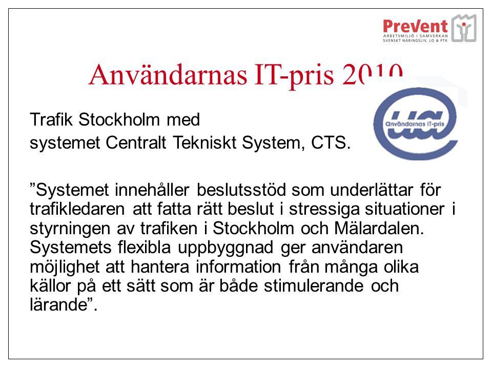 Användarnas IT-pris 2010