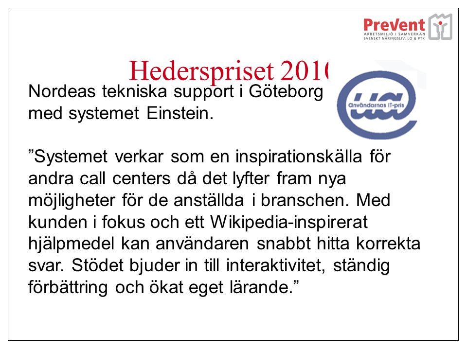 Hederspriset 2010