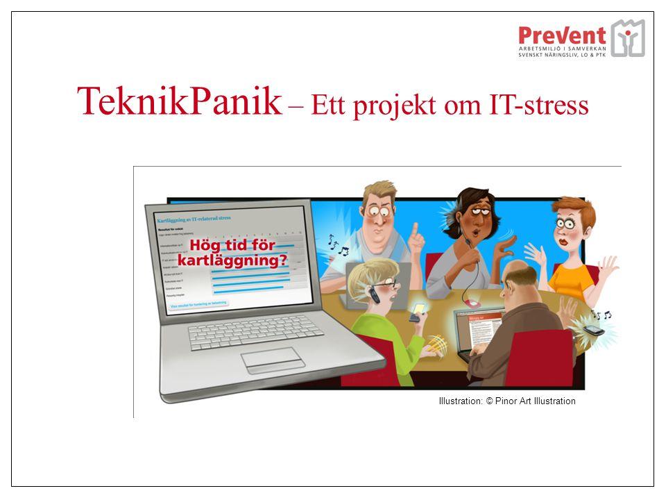TeknikPanik – Ett projekt om IT-stress