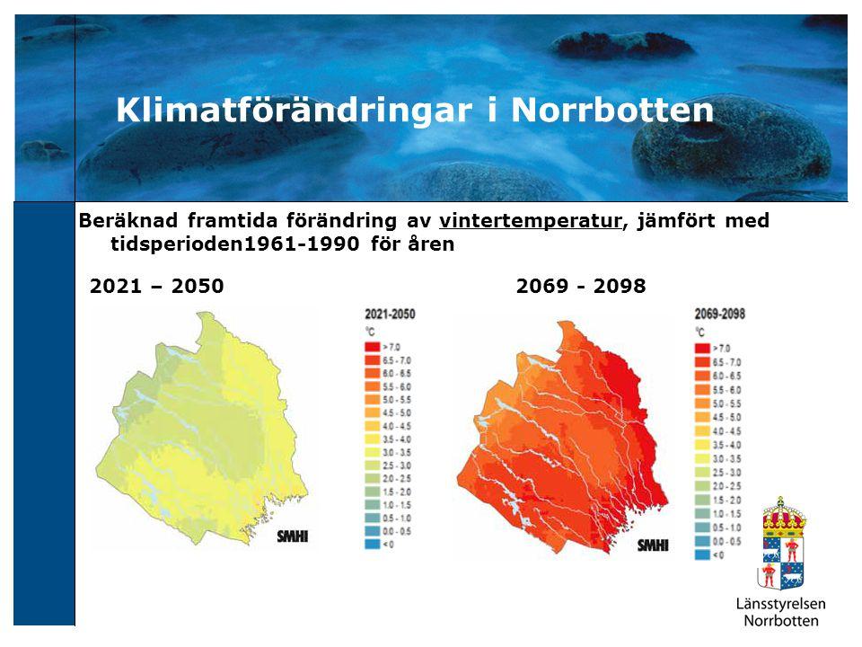 Klimatförändringar i Norrbotten