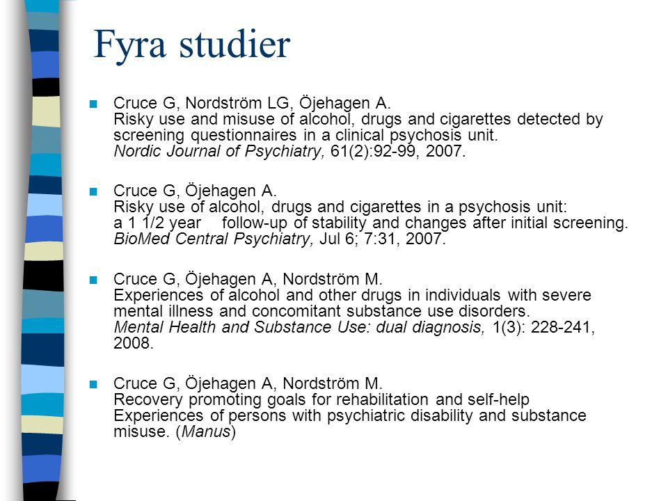 Fyra studier