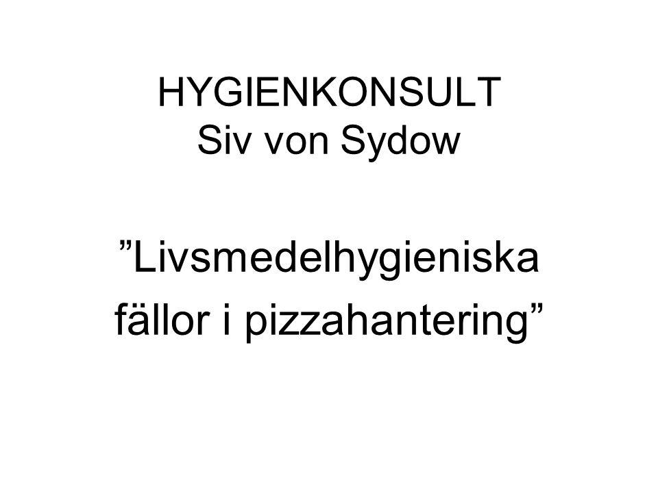 HYGIENKONSULT Siv von Sydow