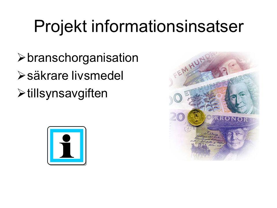 Projekt informationsinsatser