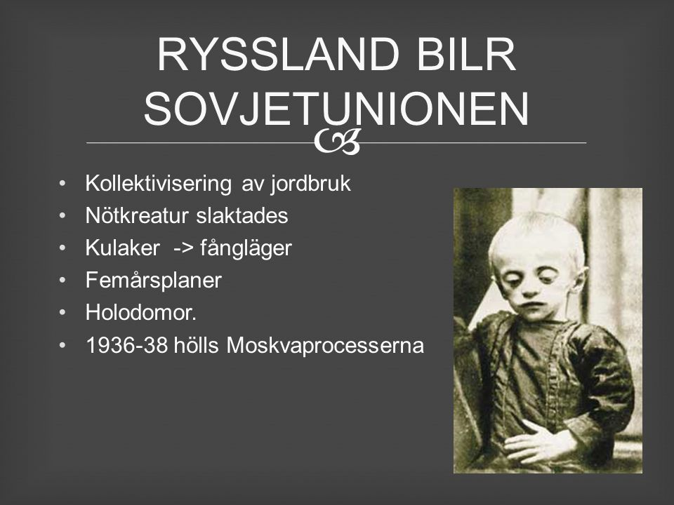 RYSSLAND BILR SOVJETUNIONEN