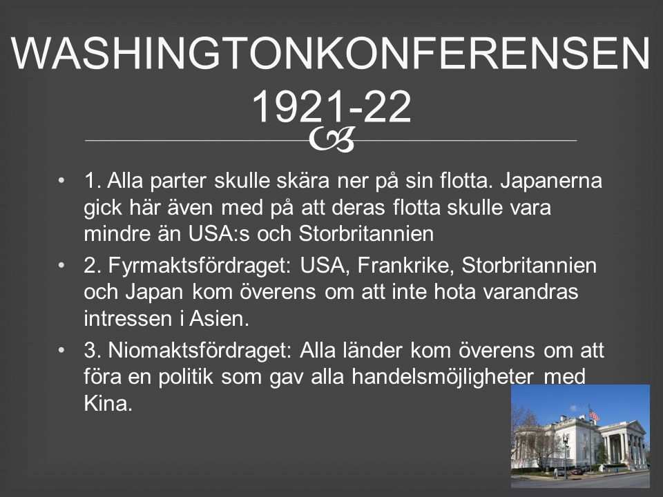 WASHINGTONKONFERENSEN 1921-22
