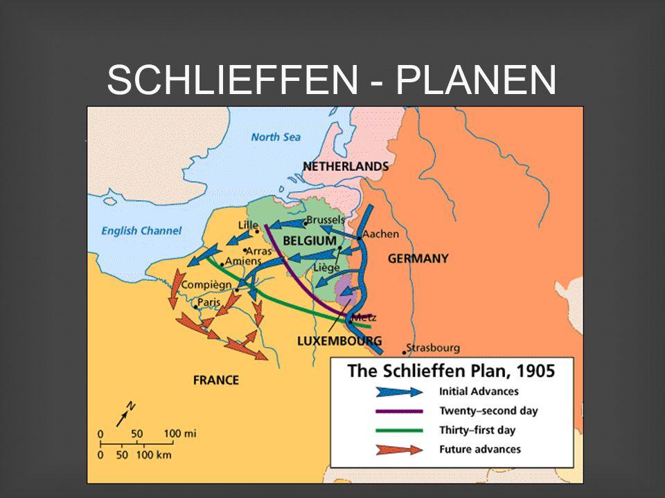 SCHLIEFFEN - PLANEN