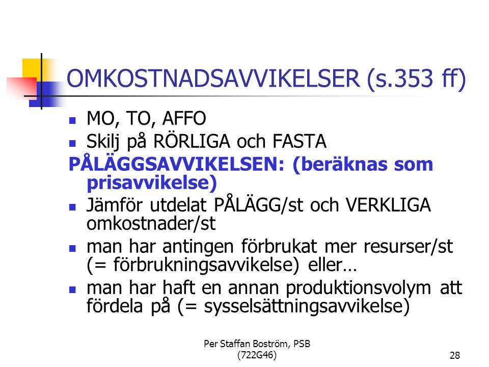 OMKOSTNADSAVVIKELSER (s.353 ff)