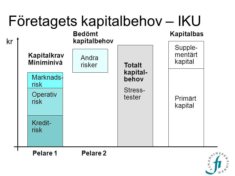 Företagets kapitalbehov – IKU