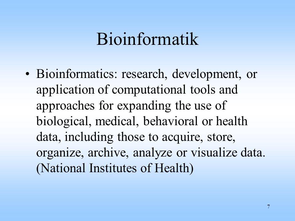 2001-10-01 Bioinformatik.