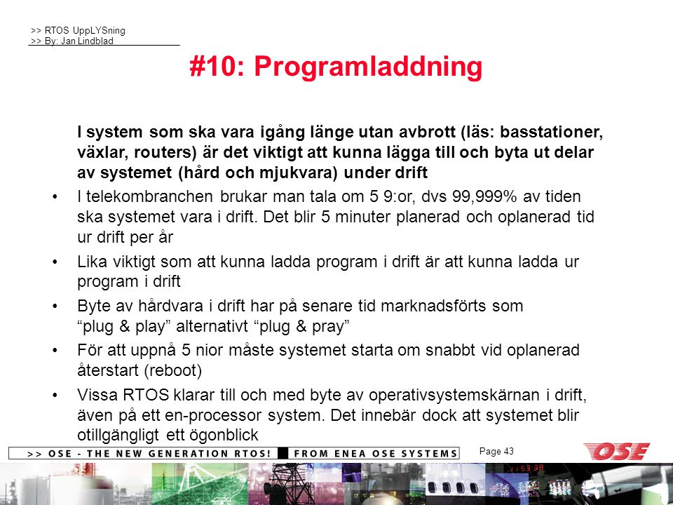 #10: Programladdning