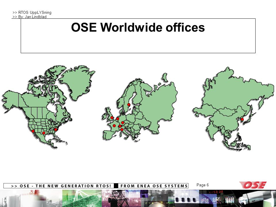 OSE Worldwide offices Company Profile