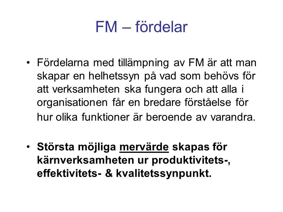 FM – fördelar