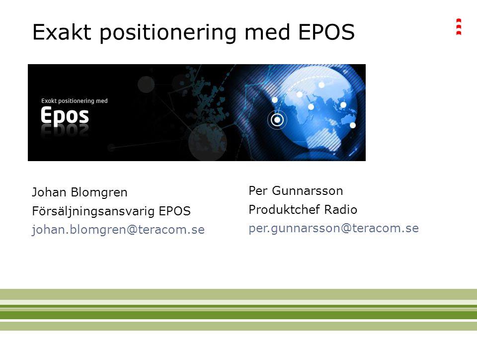 Exakt positionering med EPOS
