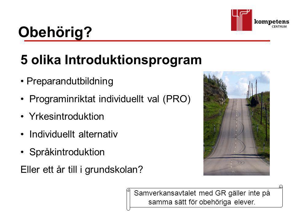 Obehörig 5 olika Introduktionsprogram Preparandutbildning