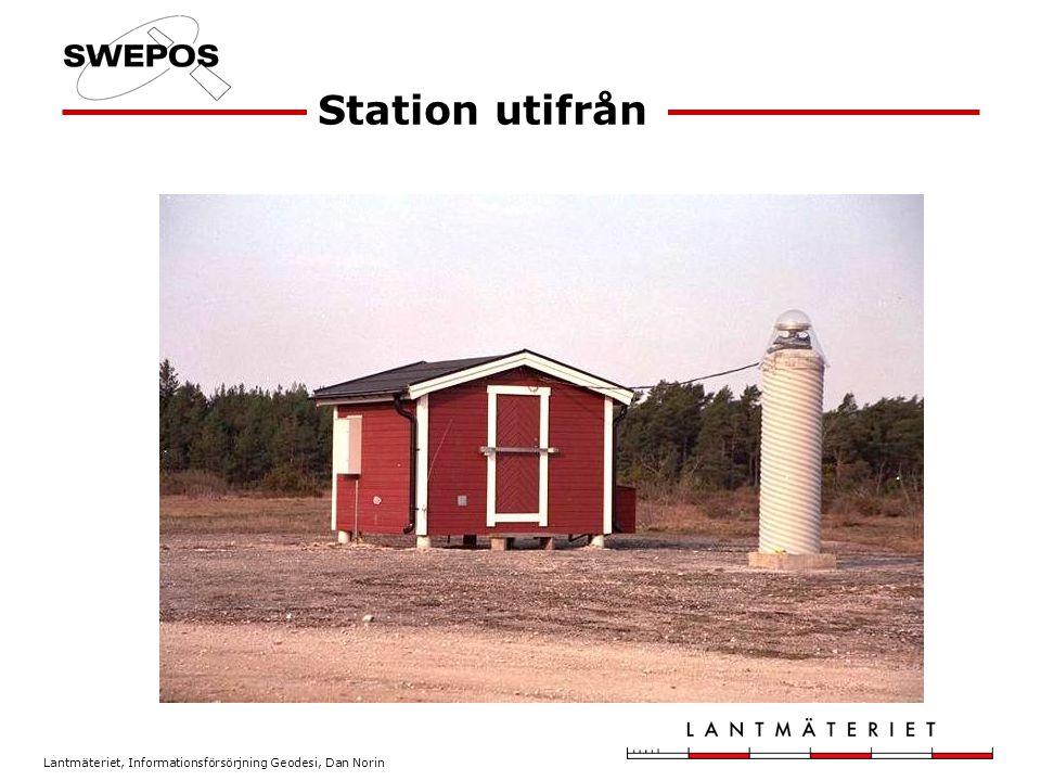 Station utifrån