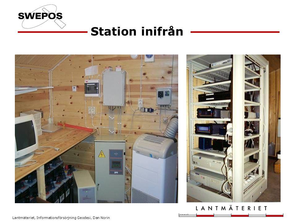 Station inifrån