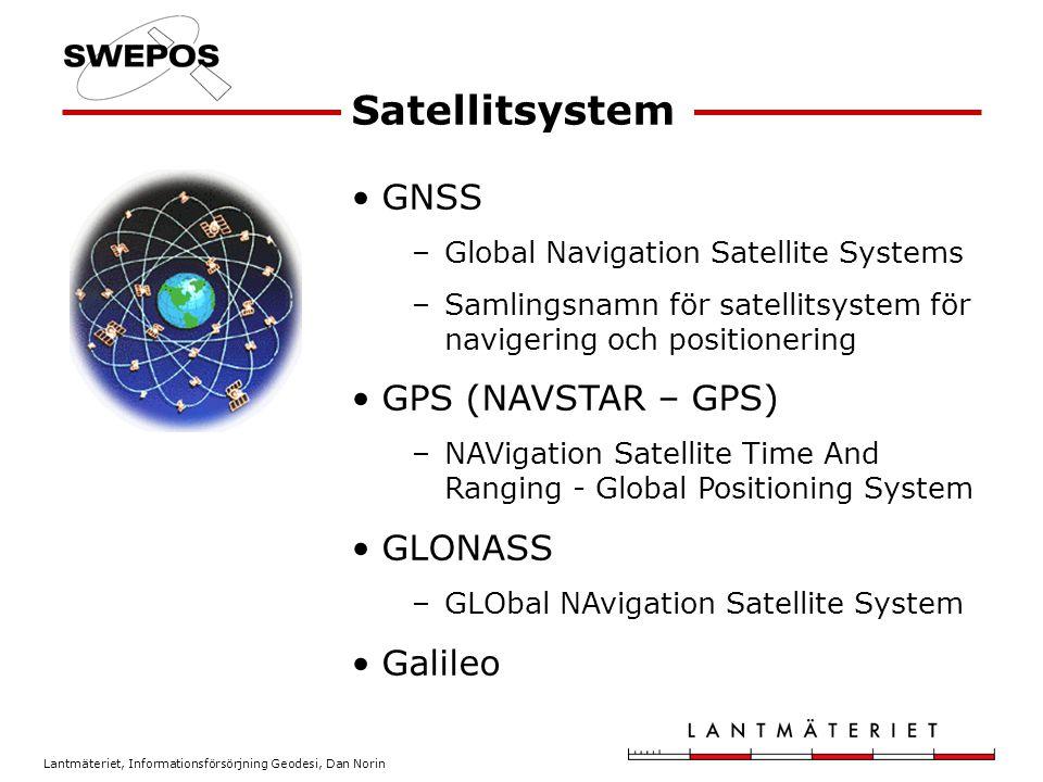 Satellitsystem GNSS GPS (NAVSTAR – GPS) GLONASS Galileo