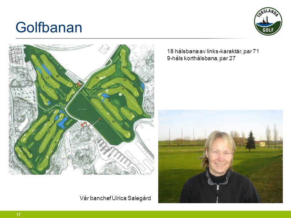 Vår banchef Ulrica Salegård
