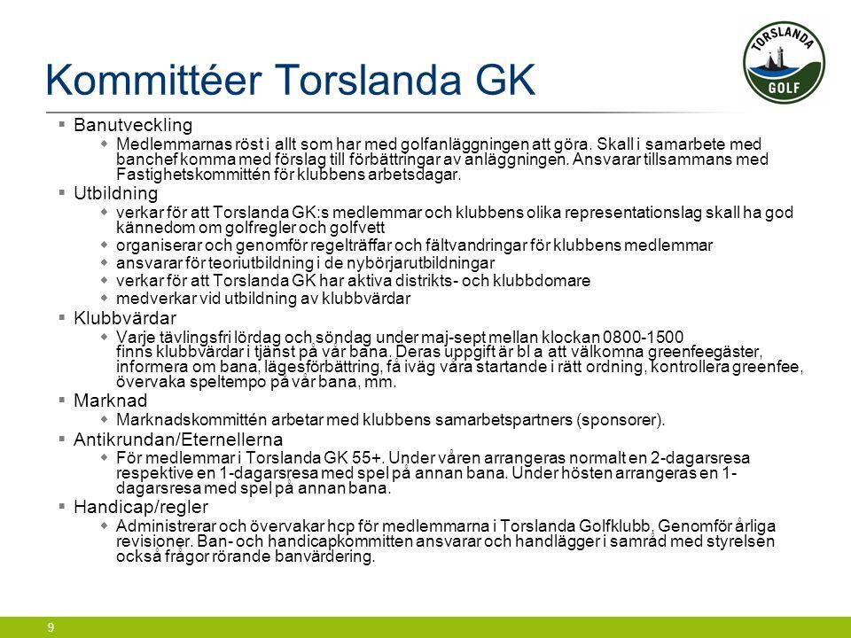 Kommittéer Torslanda GK