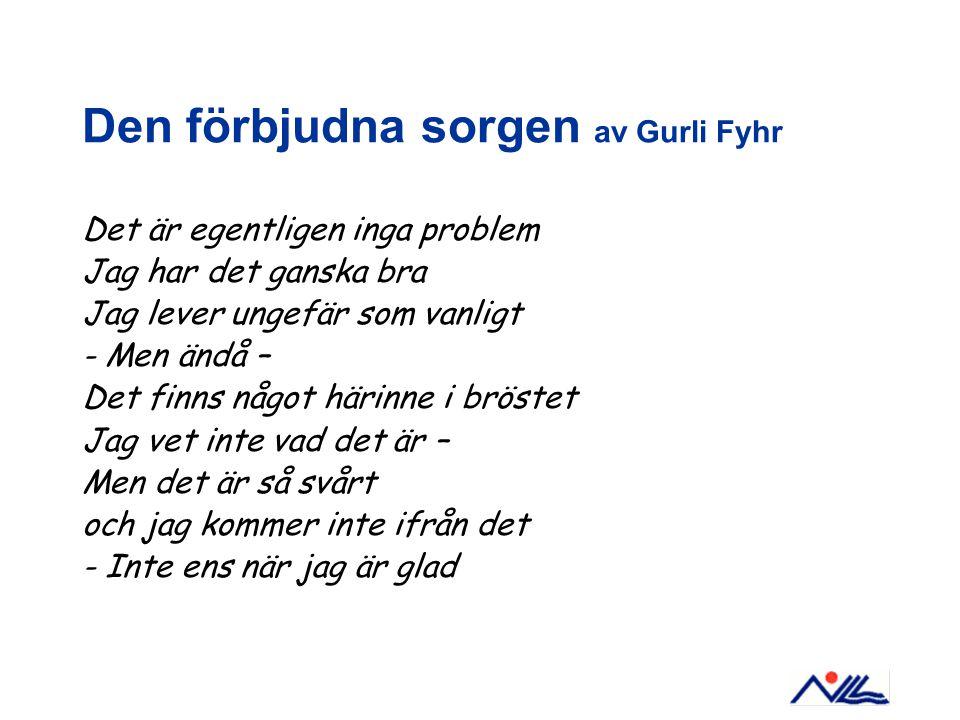 Den förbjudna sorgen av Gurli Fyhr