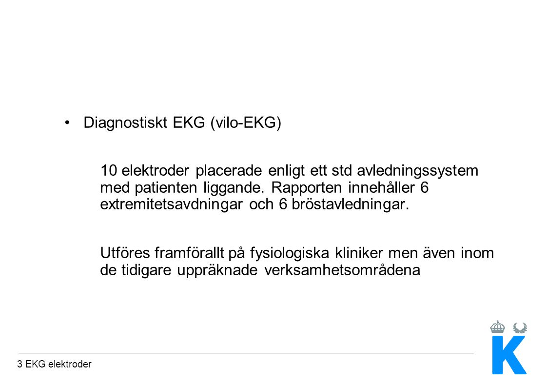 Diagnostiskt EKG (vilo-EKG)