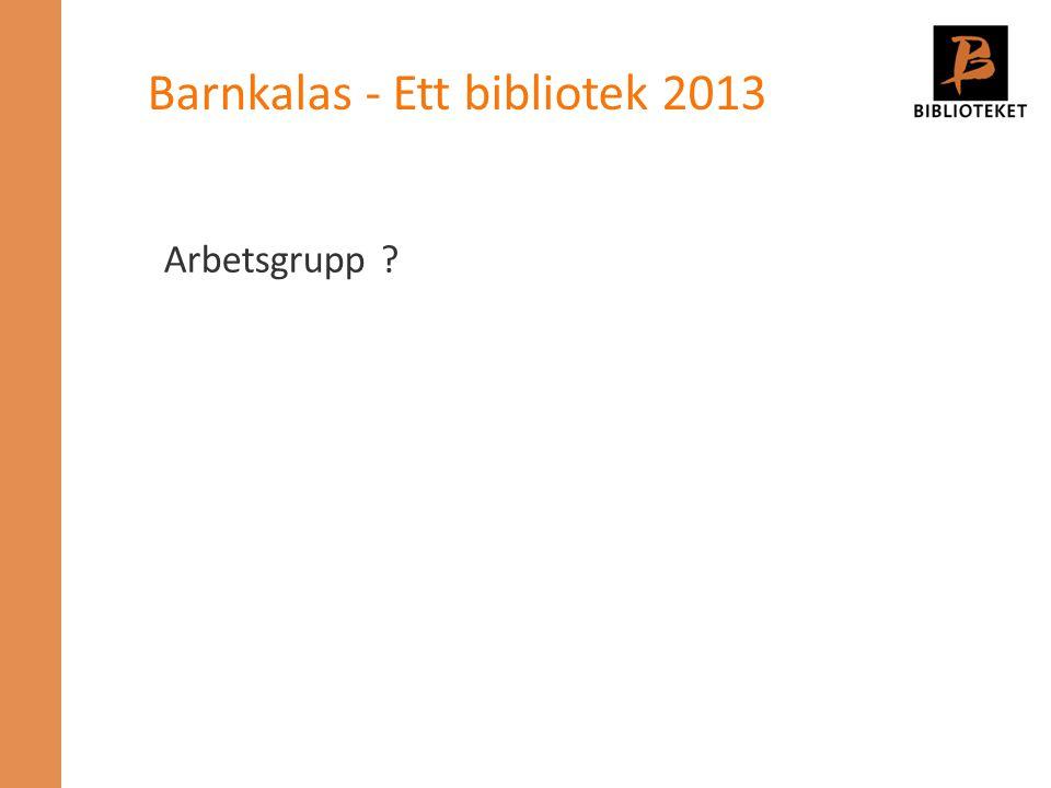 Barnkalas - Ett bibliotek 2013