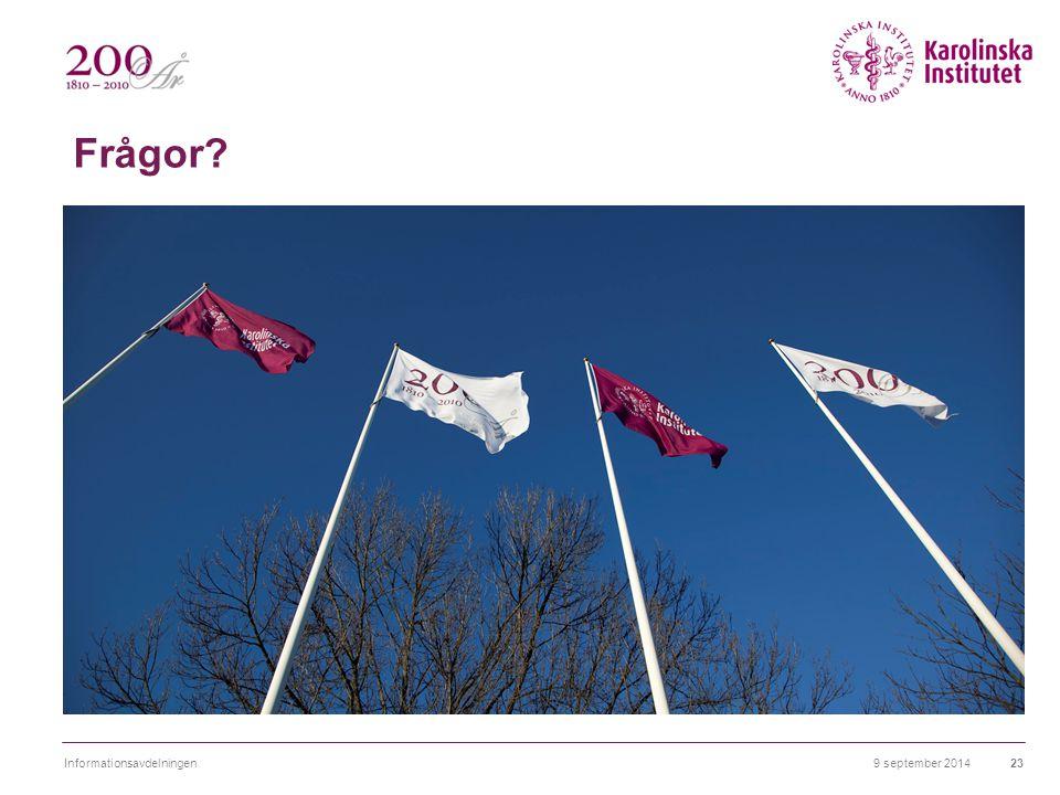 Frågor Flaggor Informationsavdelningen 6 april 2017