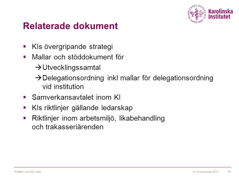 Relaterade dokument KIs övergripande strategi