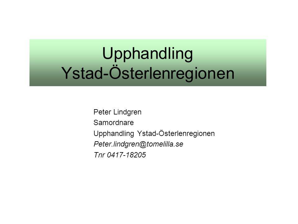 Upphandling Ystad-Österlenregionen