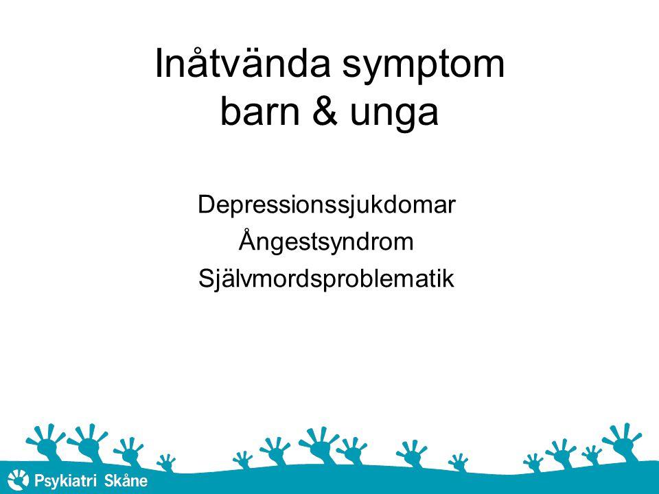 Inåtvända symptom barn & unga