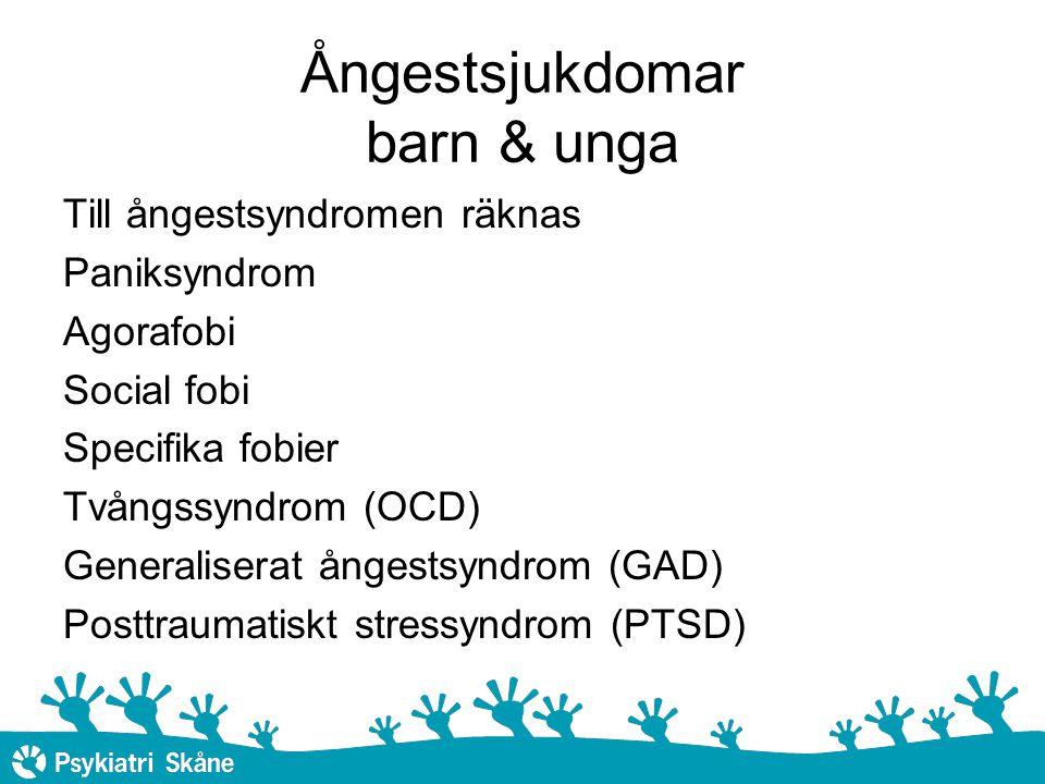 Ångestsjukdomar barn & unga