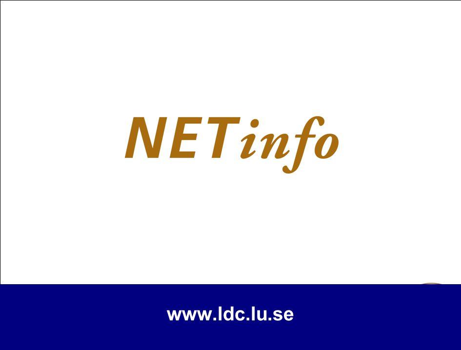 www.ldc.lu.se 13
