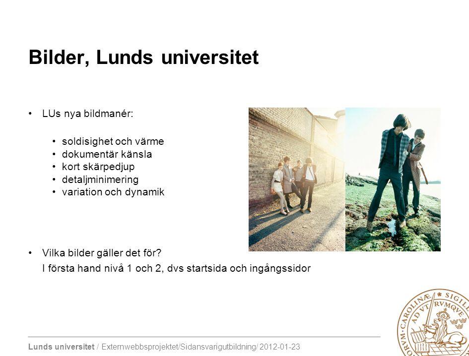 Bilder, Lunds universitet
