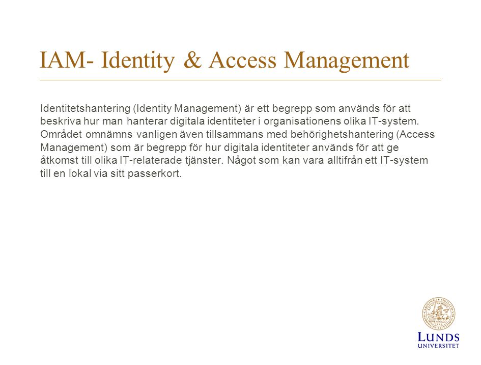 IAM- Identity & Access Management