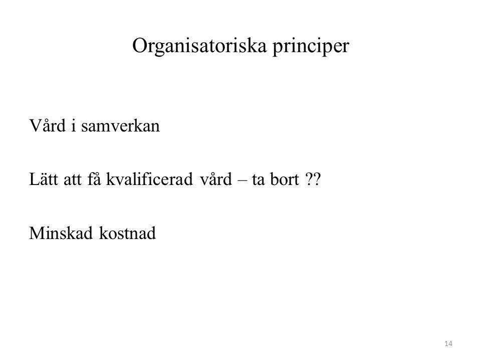 Organisatoriska principer