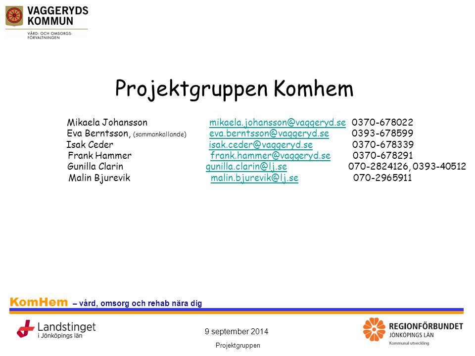 Projektgruppen Komhem