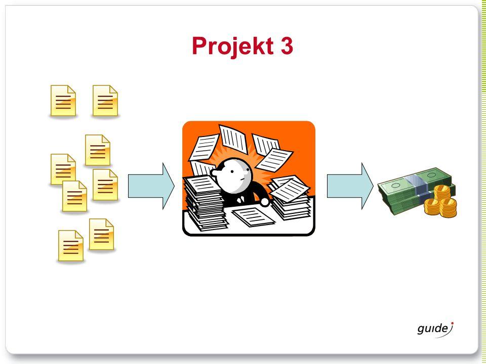 Projekt 3 Typ av system: Ansökningar och administration av forskningspengar. Typ av organisation: statligt verk.