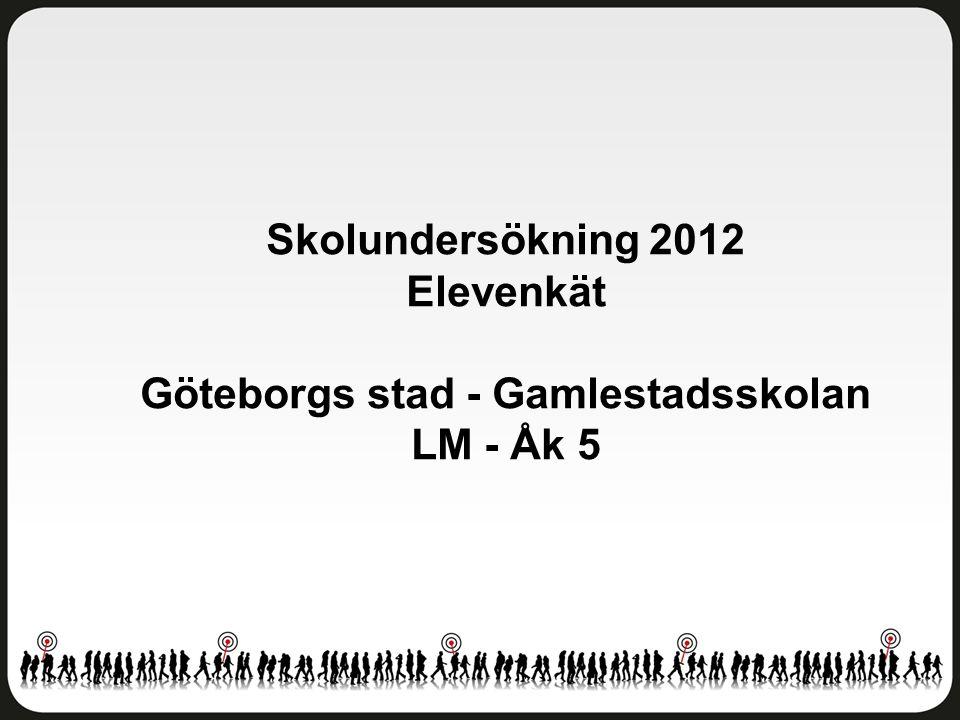 Göteborgs stad - Gamlestadsskolan LM - Åk 5