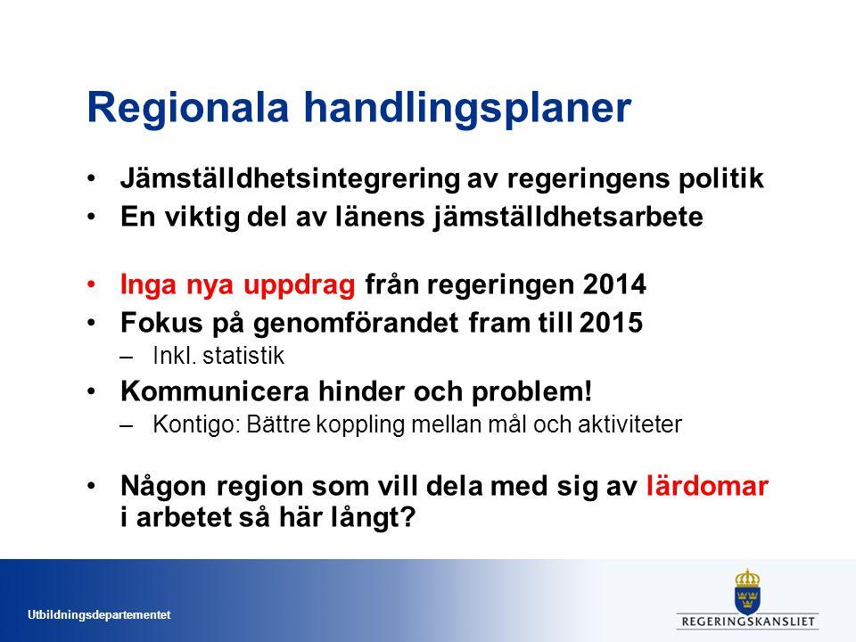 Regionala handlingsplaner