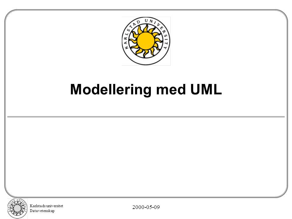 Modellering med UML 2000-05-09