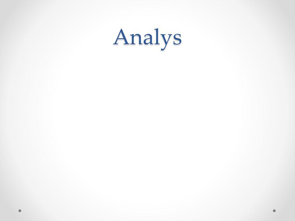 Analys