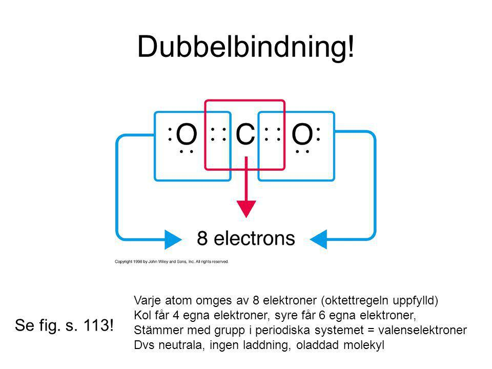 Dubbelbindning! Se fig. s. 113!