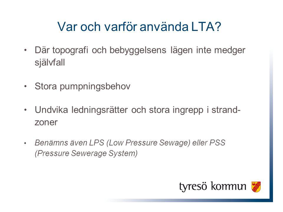Var och varför använda LTA
