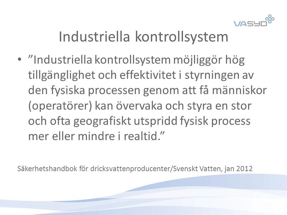 Industriella kontrollsystem
