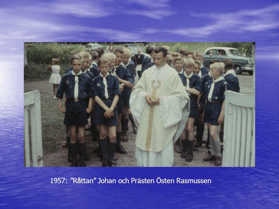 1957: Råttan Johan och Prästen Östen Rasmussen