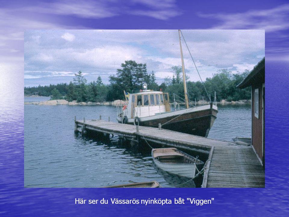 Här ser du Vässarös nyinköpta båt Viggen