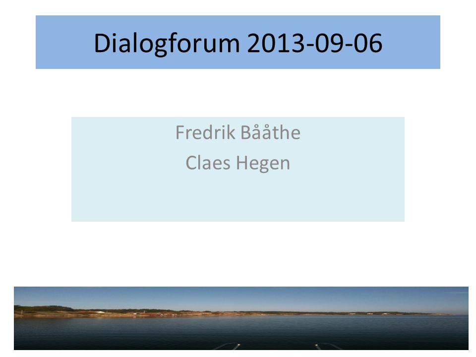 Fredrik Bååthe Claes Hegen