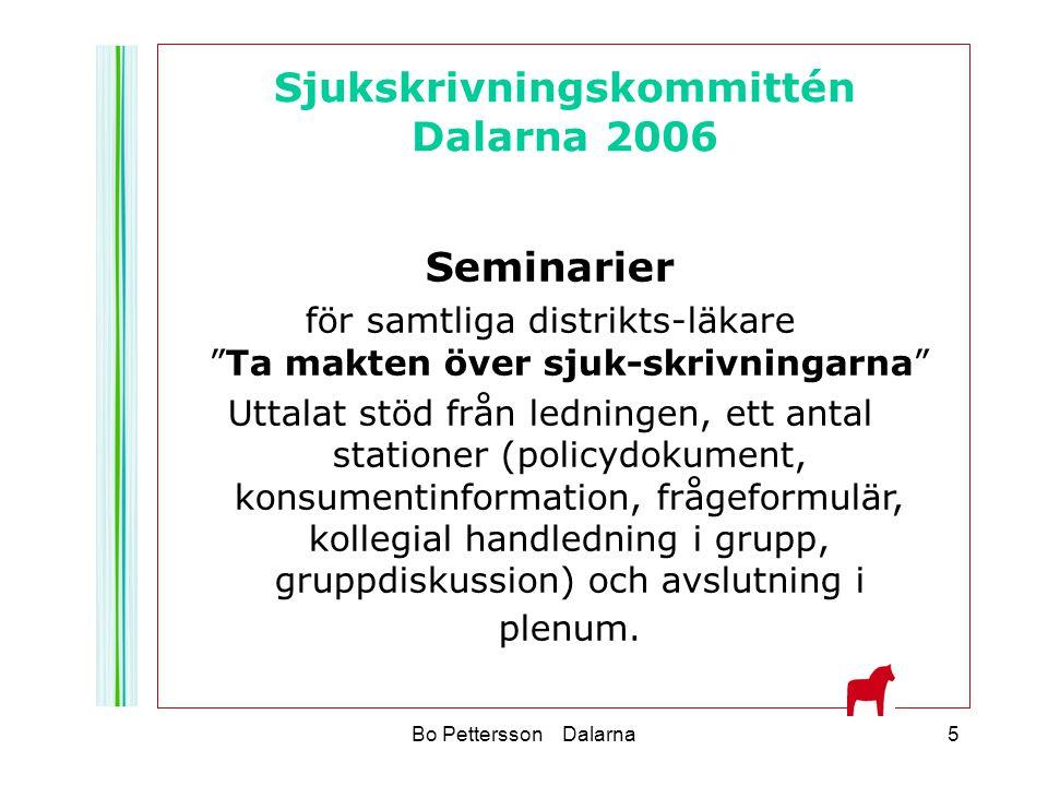 Sjukskrivningskommittén Dalarna 2006