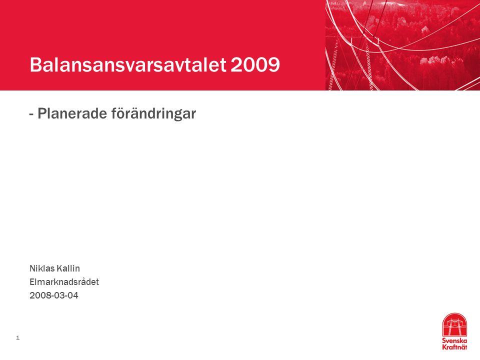 Balansansvarsavtalet 2009